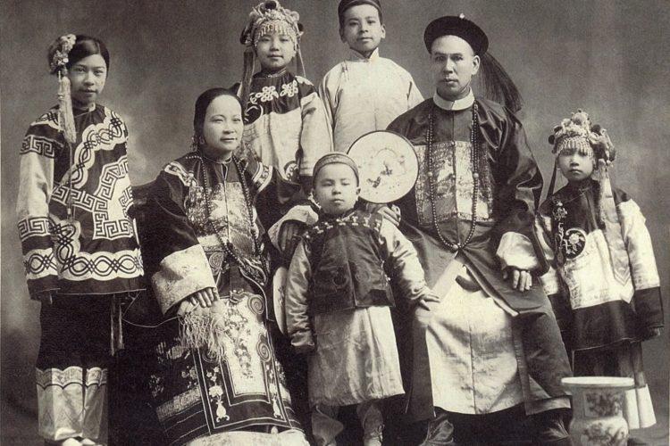 La estructura familiar en la cultura china